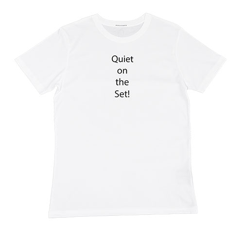 Quiet on the Set T-shirt - front